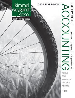 Accounting By Kimmel, Paul D./ Weygandt, Jerry J./ Kieso, Donald E. [Study Guide Edition]